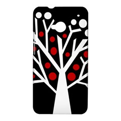 Simply decorative tree HTC One M7 Hardshell Case
