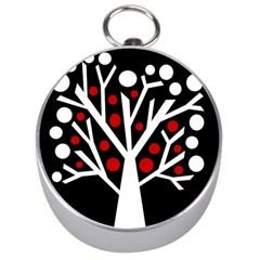 Simply decorative tree Silver Compasses