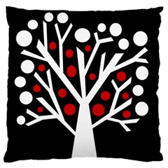 Simply decorative tree Standard Flano Cushion Case (One Side)