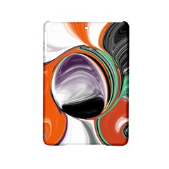 Abstract Orb In Orange, Purple, Green, And Black Ipad Mini 2 Hardshell Cases