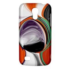 Abstract Orb In Orange, Purple, Green, And Black Galaxy S4 Mini