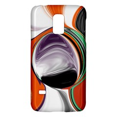 Abstract Orb In Orange, Purple, Green, And Black Galaxy S5 Mini