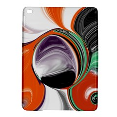 Abstract Orb In Orange, Purple, Green, And Black Ipad Air 2 Hardshell Cases