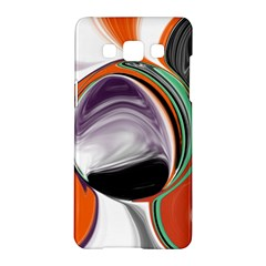 Abstract Orb in Orange, Purple, Green, and Black Samsung Galaxy A5 Hardshell Case