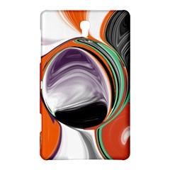Abstract Orb In Orange, Purple, Green, And Black Samsung Galaxy Tab S (8 4 ) Hardshell Case