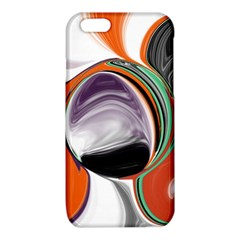 Abstract Orb in Orange, Purple, Green, and Black iPhone 6/6S TPU Case