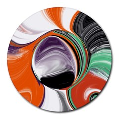 Abstract Orb Round Mousepads