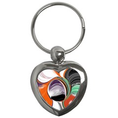 Abstract Orb Key Chains (Heart)