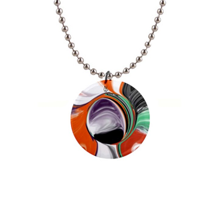 Abstract Orb Button Necklaces