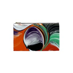 Abstract Orb Cosmetic Bag (small)
