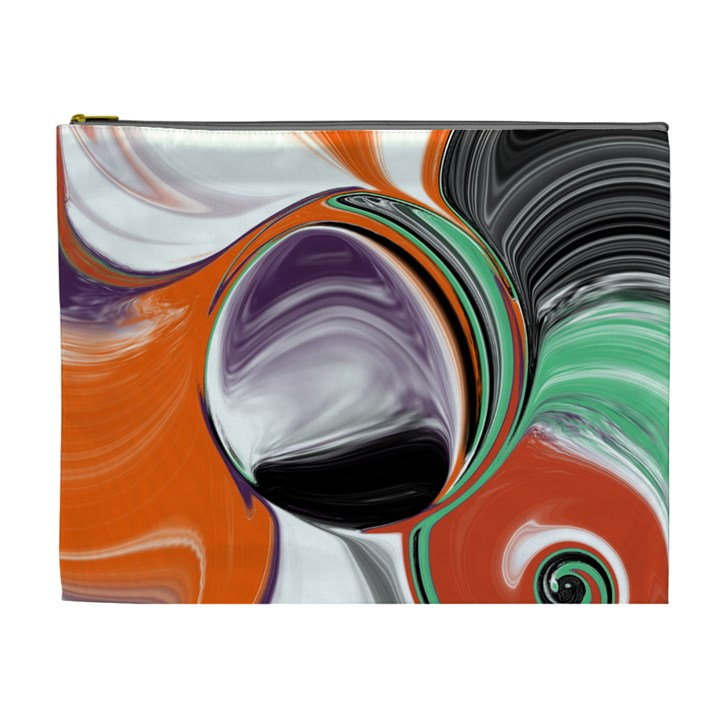Abstract Orb Cosmetic Bag (XL)