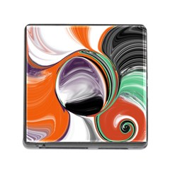 Abstract Orb Memory Card Reader (square)