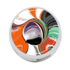 Abstract Orb 4 Port Usb Hub (one Side)