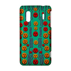 Pumkins Dancing In The Season Pop Art HTC Evo Design 4G/ Hero S Hardshell Case