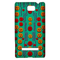 Pumkins Dancing In The Season Pop Art HTC 8S Hardshell Case