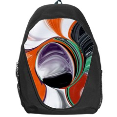 Abstract Orb Backpack Bag
