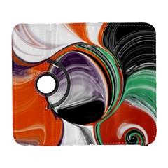 Abstract Orb Samsung Galaxy S  III Flip 360 Case