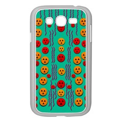 Pumkins Dancing In The Season Pop Art Samsung Galaxy Grand Duos I9082 Case (white)