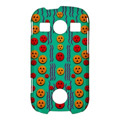 Pumkins Dancing In The Season Pop Art Samsung Galaxy S7710 Xcover 2 Hardshell Case