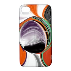 Abstract Orb Apple Iphone 4/4s Hardshell Case With Stand