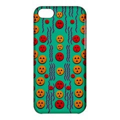 Pumkins Dancing In The Season Pop Art Apple iPhone 5C Hardshell Case