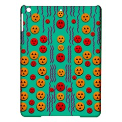 Pumkins Dancing In The Season Pop Art iPad Air Hardshell Cases