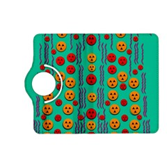 Pumkins Dancing In The Season Pop Art Kindle Fire Hd (2013) Flip 360 Case