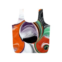 Abstract Orb Full Print Recycle Bags (s)
