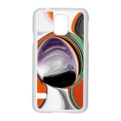 Abstract Orb Samsung Galaxy S5 Case (white)