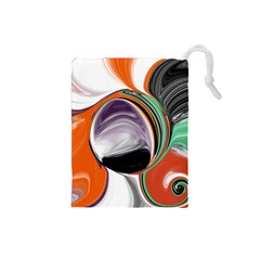 Abstract Orb Drawstring Pouches (small)