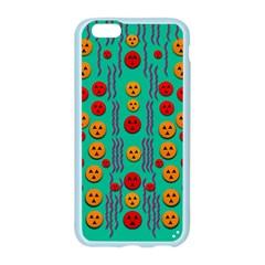 Pumkins Dancing In The Season Pop Art Apple Seamless iPhone 6/6S Case (Color)