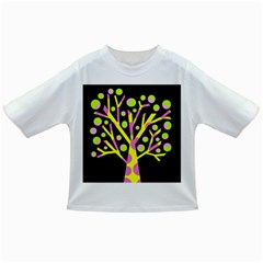 Simple colorful tree Infant/Toddler T-Shirts