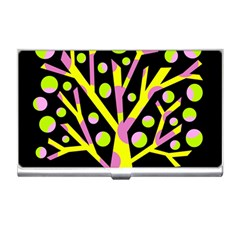 Simple colorful tree Business Card Holders