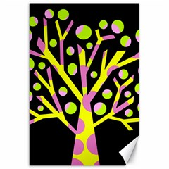 Simple colorful tree Canvas 20  x 30