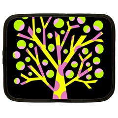 Simple colorful tree Netbook Case (XXL)