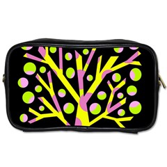 Simple colorful tree Toiletries Bags 2-Side