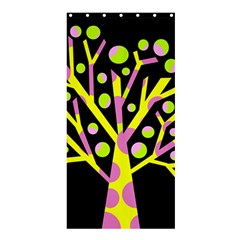 Simple colorful tree Shower Curtain 36  x 72  (Stall)