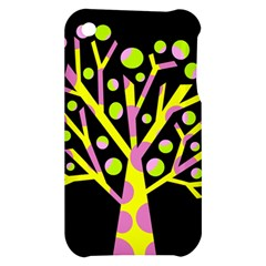 Simple colorful tree Apple iPhone 3G/3GS Hardshell Case