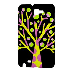 Simple colorful tree Samsung Galaxy Note 1 Hardshell Case
