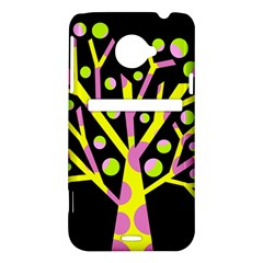 Simple colorful tree HTC Evo 4G LTE Hardshell Case