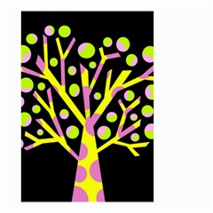 Simple colorful tree Small Garden Flag (Two Sides)