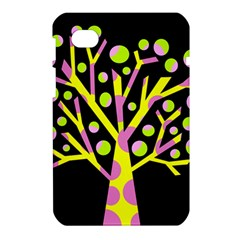 Simple colorful tree Samsung Galaxy Tab 7  P1000 Hardshell Case