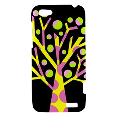 Simple colorful tree HTC One V Hardshell Case