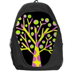 Simple colorful tree Backpack Bag
