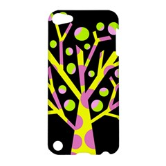 Simple colorful tree Apple iPod Touch 5 Hardshell Case