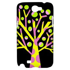Simple colorful tree Samsung Galaxy Note 2 Hardshell Case