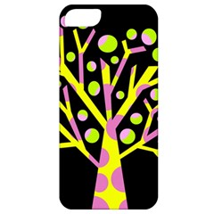 Simple colorful tree Apple iPhone 5 Classic Hardshell Case
