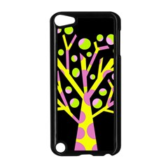 Simple colorful tree Apple iPod Touch 5 Case (Black)