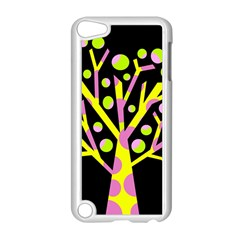 Simple colorful tree Apple iPod Touch 5 Case (White)