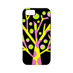Simple colorful tree Apple iPhone 5 Classic Hardshell Case (PC+Silicone)